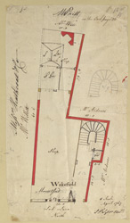 [Plan of property in Lad Lane] 170-B